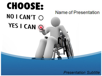 Physical Disabilities PowerPoint Template