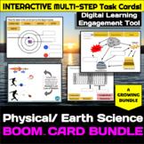 Physical / Earth Science GROWING Boom Card Bundle- Digital