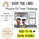 Physical Ed Timer Challenge: Boom Task Cards!