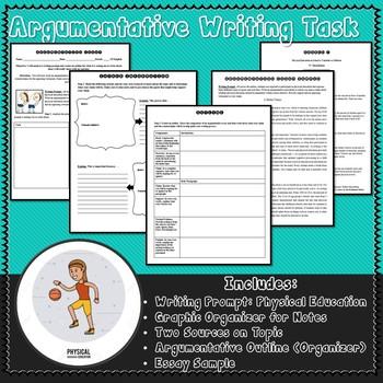 Physical Education Argumentative Writing Task