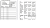 Physical Education Assessment Sheet & Rubric