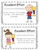 Physical Education Award Certificates --KIDS LOVE THEM!  Positive Reinforcement