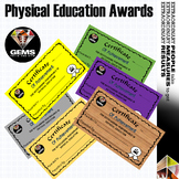 PE Physical Education Awards!