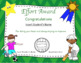 Physical Education Awards / PE Certificates