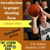 Physical Education Basketball Lesson Plan
