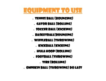 Physical Education Beat the Equipment