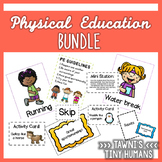 Physical Education Bundle - Posters, Task Cards, Activities and More