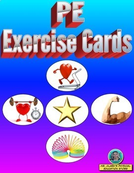PE Exercise Cards Bundled