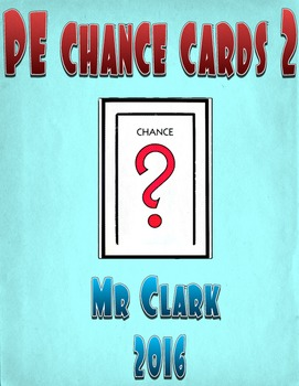 Physical Education Chance 1 and 2 Bundle