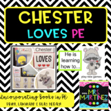 Physical Education: Chester LOVES PE Bulletin Board