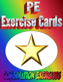 Physical Education Combination Exercise Cards