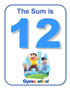 Physical Education Common Core – Addition and Subtraction to 20 - Gymucation!