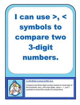 Physical Education Common Core – Comparing Two 3-Digit Numbers – Gymucation!