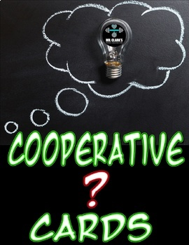 Physical Education Cooperative Questioning Cards