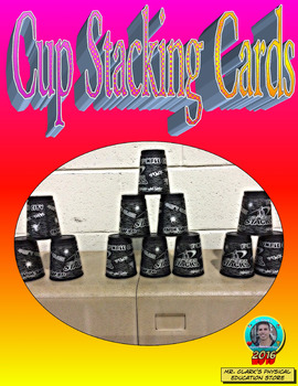 Physical Education Cup Stacking Cards