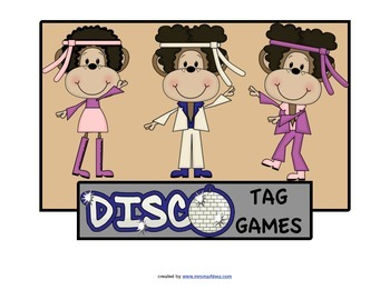Physical Education Disco Stations for PE class or a School Wide Event