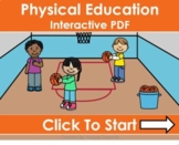Physical Education Distance Learning Interactive PDFs