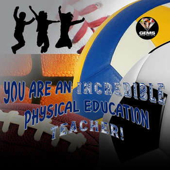 Physical Education Door Badges!