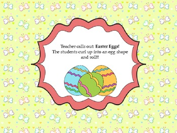 Physical Education Easter Introduction Game