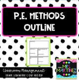 Physical Education Elementary Methods: Outline for College Students