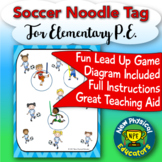 Soccer Noodler Tag for Physical Education Elementary