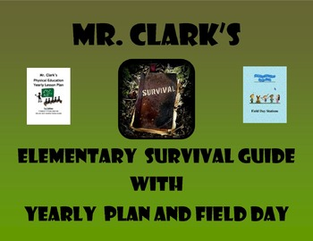 Physical Education Survival Guide w/ Yearly Plan 1 and Top