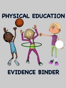 Physical Education Evidence Binder (Danielson) - Grey