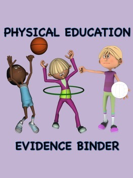 Physical Education Evidence Binder (Danielson) - Purple