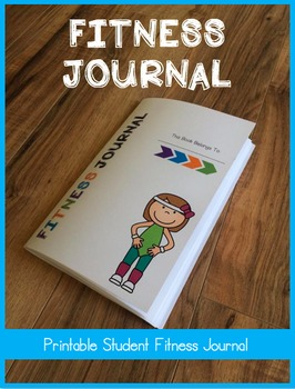 Physical Education Fitness Journal Booklet