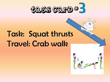 Physical Education Fitness Trail Stations