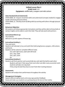 Physical Education Gym Field Hockey Unit Grades 1-4