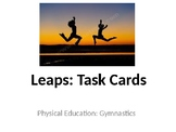 Physical Education Gymnastics Unit Task Cards (Elementary/