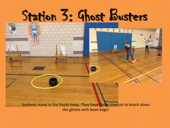 Physical Education Halloween Stations
