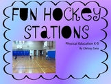 Physical Education Hockey Stations