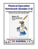 Physical Education Homework eBook (Grades 3-6)