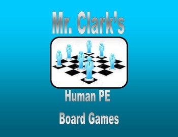 Physical Education Human Board Games Bundle