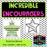 Physical Education: Incredible Encouragers