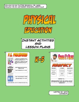 Physical Education Instant Activities and Lesson Plans