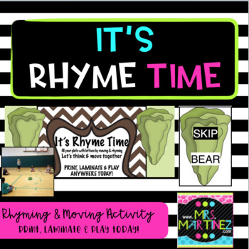 Physical Education: It's Rhyme Time!