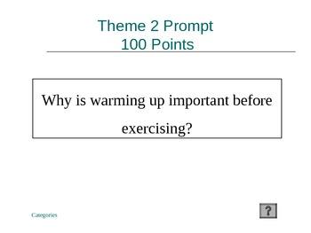 Physical Education Jeopardy