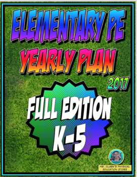 Physical Education K-5 Yearly Plan 5
