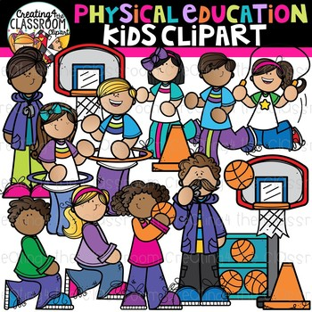 Physical Education Kids Clipart School Clipart By Creating4 The Classroom