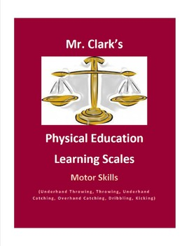 Physical Education Learning Scale Kicking