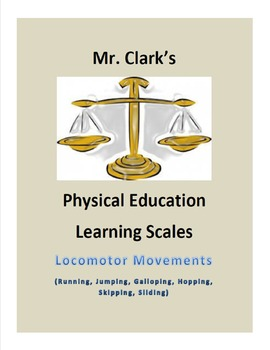 Physical Education Learning Scales Bundled