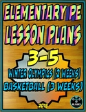 Physical Education Lesson Plan 3rd-5th Volume 6