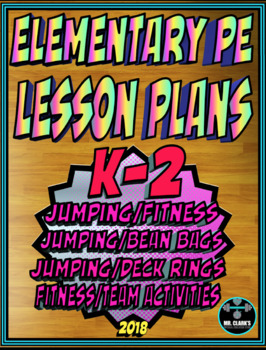 Physical Education Lesson Plan K-2 Volume 5
