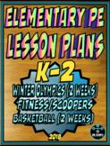 Physical Education Lesson Plan K-2 Volume 6