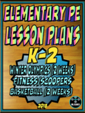 Physical Education Lesson Plan K-2 Volume 6