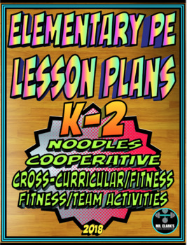 Physical Education Lesson Plan K-2 Volume 8