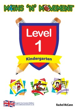 Physical Education Maths Games & Lessons – Kindergarten / Level 1 Bundle (UK)